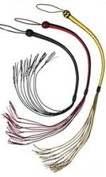 kagaroo leather cat whips