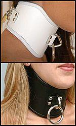 tall bondage collar